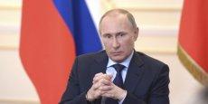 Les marchés ont réagi positivement aux propos mesurés de Vladimir Poutine ce mardi. (Photo : Reuters)