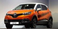 Premier modèle vendu, le Renault Captur produit en Espagne
