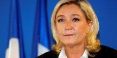Marine Le Pen a réussi son pari: le Front National arrive largement en tête aux élections européennes