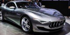 Maserati Alfieri, au salon de Genève. / DR