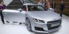 La nouvelle Audi TT au salon de Genève