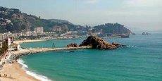 Une plage sur la Costa Brava. Copyright Reuters