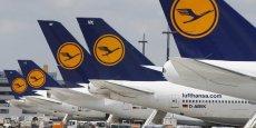 Lufthansa compte réduire de manière notable ses capacités durant la période d'hiver. / Reuters