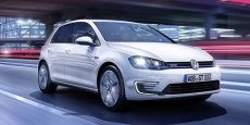 La VW Golf GTe hybride rechargeable sera commercialisée en septembre 2014 en France. / DR