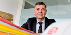 Philippe Moulia, directeur général d'Eiffage Construction Nord Aquitaine