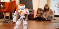 Le robot Nao était présent chaque année à Lyon pour le salon Innorobo.