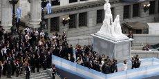 L'Argentine est privée d'accès au marché de la dette depuis plus de 10 ans après avoir fait défaut. (Reuters/Marcos Brindicci)