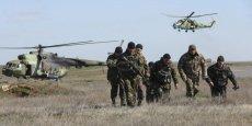 L'armée russe a déployé d'importants effectifs à la frontière orientale de l'Ukraine et pourrait menacer la Transnistrie, région séparatiste de Moldavie