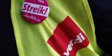 Le syndicat Ver.di a déclenché une grève pour obtenir une augmentation de salaires de 3,5 %
