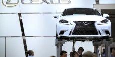 Toyota, dont Lexus est le label haut de gamme, affiche des marges excellentes (10,8%)