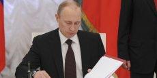 La compagnie d'assurance Sogaz, destinataire du transfert d'argent, est partiellement détenue par la banque russe Rossia, ciblée par les sanctions américaines décrétées en réponse au rattachement de la Crimée à la Russie. (Photo : Reuters)