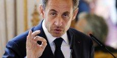 Nicolas Sarkozy plaide pour une grande zone économique franco-allemande