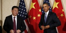 Xi Jinping et Barack Obama.