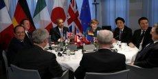 Vladimir Poutine n'est plus tout à fait le bienvenu à la table de Barack Obama, Angela Merkel, Shinzo Abe, Matteo Renzi, José Manuel Barroso, Herman Van Rompuy, Stephen Harper, François Hollande et David Cameron.
