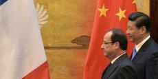 Pour François Hollande, la venue de Xi Jinping à Paris est une étape importante de notre histoire, 50 ans après le rétablissement des relations diplomatiques entre nos deux pays.(Photo : Reuters)