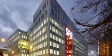 Le nouveau campus de SFR à Saint-Denis. Copyright Patrick Tournebeuf
