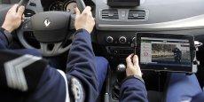 Il y a aujourd'hui en circulation 99 radars mobiles, installés dans des Renault Mégane et des Peugeot 208. REUTERS/Regis Duvignau