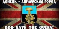 Donetsk, ville angaise. L'Union jack flottera-t-il sur la cité minière ukrainienne ?