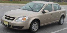 La Chevrolet Cobalt, concernée par les rappels