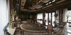 La vaste demeure de Yanukovitch à quelques kilomètres de Kiev rassemblait de nombreuses œuvres d'art que l'Ukraine a déjà récupéré...