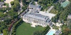 La villa Fleur de Lys, sur la colline de Holmy Hills à Los Angeles, a été vendue pour 74,4 millions d'euros. DR