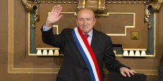 Gérard Collomb réélu vendredi maire de Lyon. (Photo Emmanuel Foudrot)