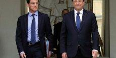 François Hollande et Manuel Valls espèrent un retour de la confiance... et de la croissance
