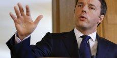 Matteo Renzi espère toutefois que ce chiffre sera démenti, mais de manière positive. (Photo : Reuters)