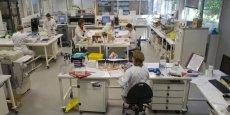 Le laboratoire de Biomnis à Lyon va se consacrer à la biologie spécialisée. ©Laurent Cerino/Acteurs de l'économie