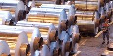 Des rouleaux d'aluminium alimenteront les presses sur le site de la société Pivaudran, à Souillac. L'alliance avec l'entreprise catalane Tesem permet de répondre à des appels d'offres bien plus importants. / DR