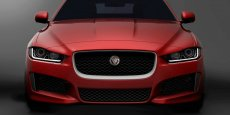 La seule photo officielle de la Jaguar XE
