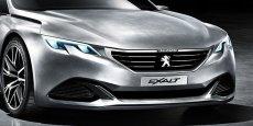 Le concept Peugeot Exalt sera présenté au salon de Pékin dimanche 20 avril