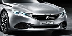 Le Peugeot Exalt, concept qui sera exposé au salon de Pékin