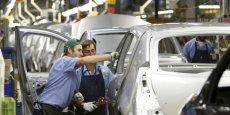 L'usine de Flins fabrique la Clio 4, la Clio 3 et la voiture électrique Zoé. (Photo : Reuters)