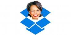 Condoleezza Rice est depuis mercredi la quatrième membre du conseil d'administration de Dropbox. (Photo : Drop Dropbox)