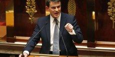 Moitié moins de régions d'ici 2017, suppression des conseils départementaux d'ici 2021 : les annonces surprises de Manuel Valls lors de son discours de politique générale de Manuel Valls du 8 avril dernier. / Reuters