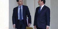 40 points d'écart entre Manuel Valls et François Hollande, du jamais vu