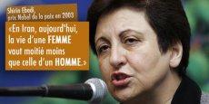 L'avocate et militante iranienne, Shirin Ebadi, nous livre son combat pour les droits des femmes et des enfants dans son pays. / DR