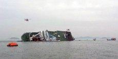 Le ferry naufragé au large de l'île de Jindo transportait 477 passagers. (Photo Reuters)