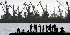 La ville portuaire de Mariupol, où s'est déroulée la fusillade, borde la mer d'Azov, comme la péninsule de Crimée. (Photo : Reuters)