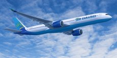 Air Caraïbes a commandé 6 Airbus A350 (image de synthèse)