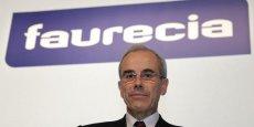 Yann Delabrière, Pdg de Faurecia, estime que Faurecia continuera à surperformer le marché chinois, mais à un rythme moindre.