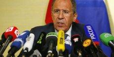 La fusillade survenue dimanche dans l'Est de l'Ukraine montre, pour Sergueï Lavrov, que Kiev n'a pas la volonté de contrôler les extrémistes. Reuters