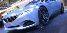 La Peugeot Exalt au dernier salon de Pékin