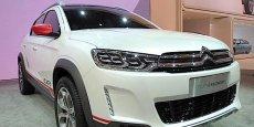 Le dernier petit crossover Citroën présenté au salon de Pékin