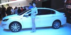La Peugeot 408, dérivée de la 308, et dédiée à la Chine