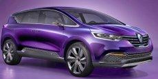 Le futur Renault Espace est exposé au salon de Pékin et sera vendu en Chine
