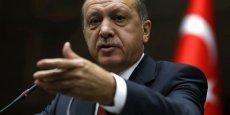 Recep Tayyip Erdoğan, premier ministre turque et candidat à l'élection présidentielle ce 10 août