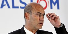 Patrick Kron, le PDG d'Alstom, a reçu une rémunération de 2,55 millions d'euros en 2013 pour ce poste (+11,35%). (Photo Reuters)