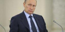 Pour  Vladimir Poutine, Ianoukovitch reste toutefois le président en exercice, chassé par un coup d'Etat soutenu par les Américains. (Photo: Reuters)